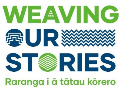 2021 Weaving Our Stories logo